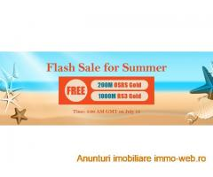 Come to RSorder Summer Flash Sale to Enjoy 07 Runescape Gold for Free on July 13