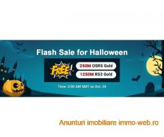 Try to Gain RSorder Halloween 2020 Flash Sale Free OSRS Gold for Sale on Oct 26