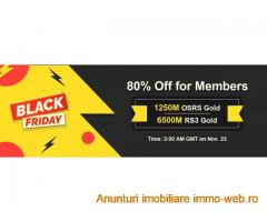 RSorder Black Friday Sale for Members: Acquire RS 2007 Gold with 80% Discount