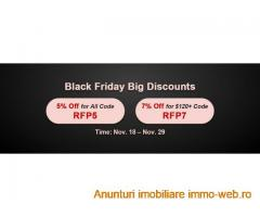Happy to Join RSorder Black Friday Big Discounts Event for 7% Off RS Gold for Sale