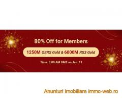Big Discount for New Year: Take RS3 Gold with 80% Off as RSorder Members